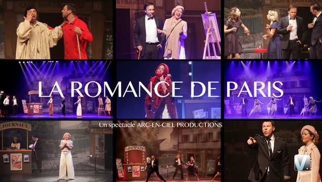Comédie musicale LA ROMANCE DE PARIS