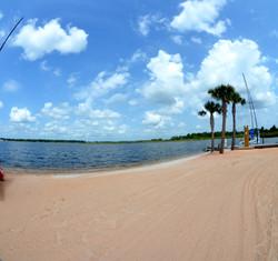 Marina's beach at Dog River