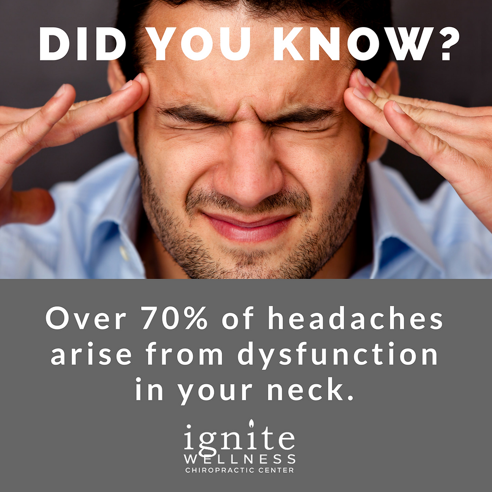 Chiropractor in Chapel Hill helps with headaches
