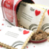 """2 dozen cookies_ 3 jumbo size (5"""") love"""