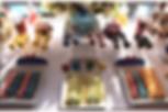 dessert table, custom cookies, cupcake in a jar