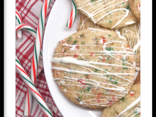 Vanilla Candy Cane Cookies
