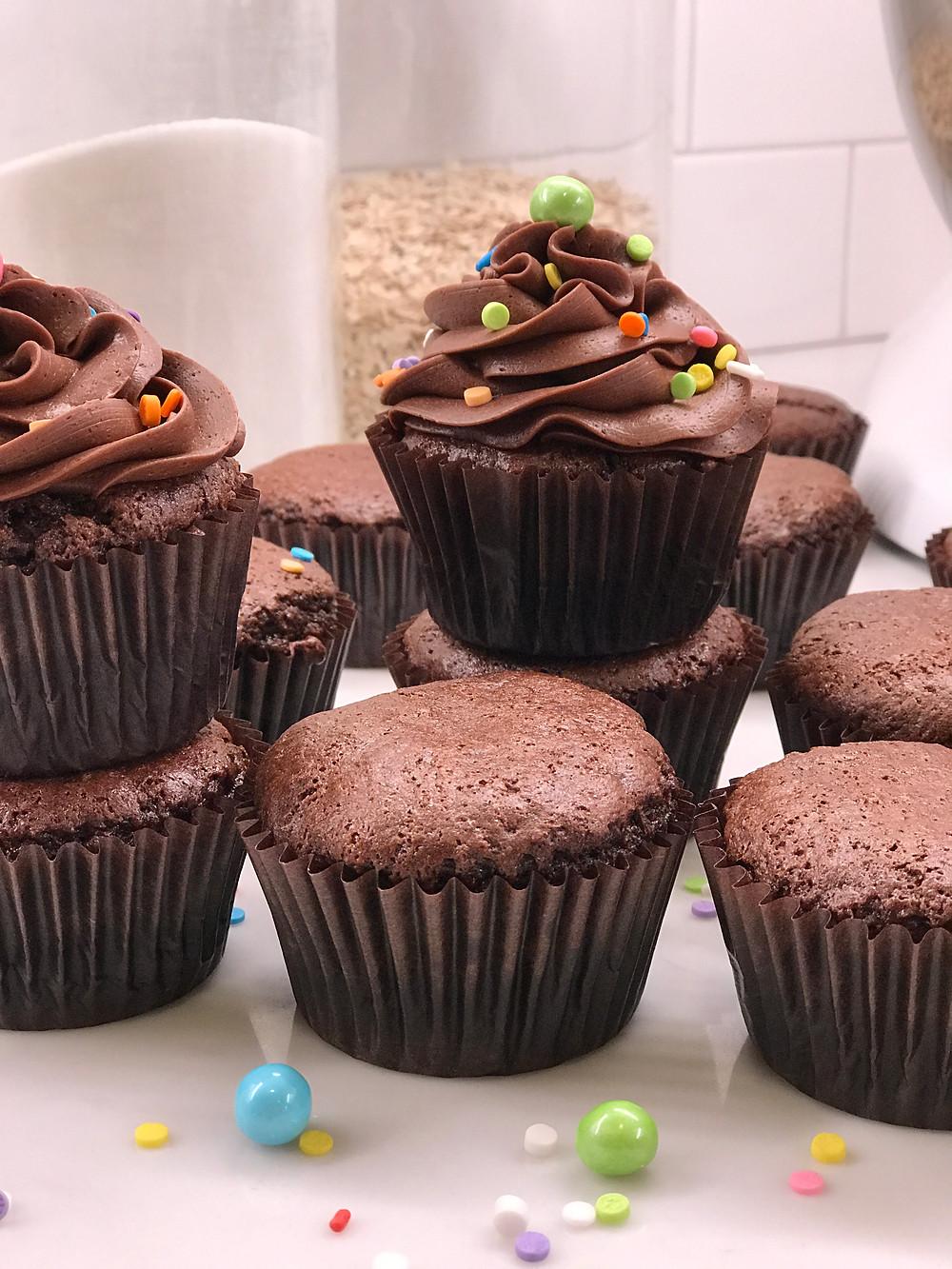 Back to basics with a chocolate cupcake