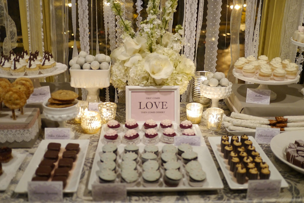 Love is Sweet Dessert Bar