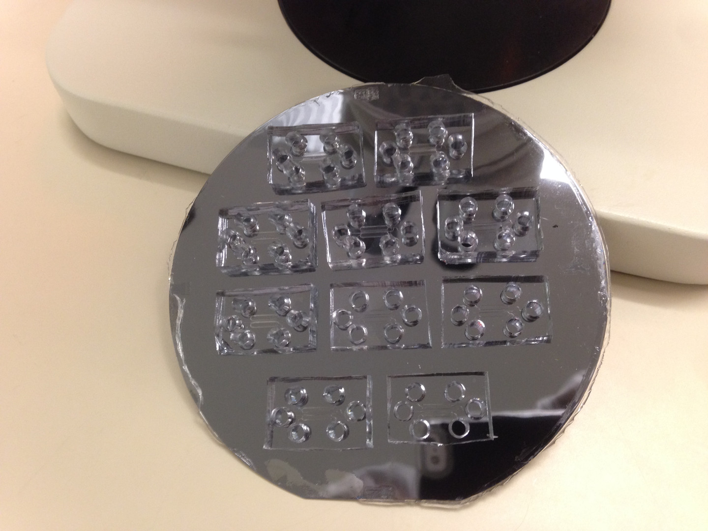 Microfluidic fabrication