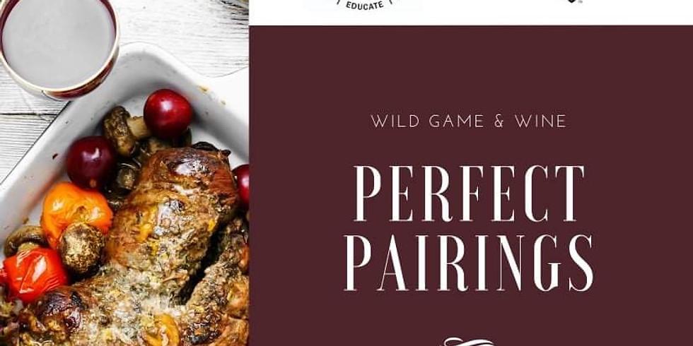 Wild Game &  Wine -Perfect Pairings (Missouri)