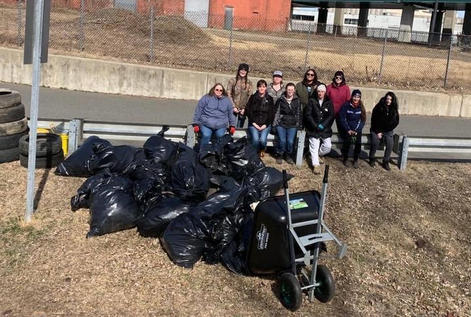 Teaming up with a local organization in MA to clean up fishing spots