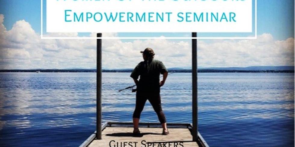 Women's Empowerment Seminar-NO LONGER AFRAID