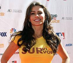Sofia Vergara Cancer Warrior