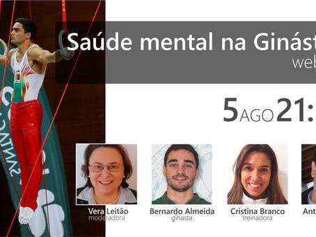 Saúde mental na Ginástica | Webinar