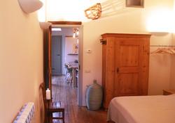 Casa Ciappa - Ulivo mit Blick in den Wohnraum