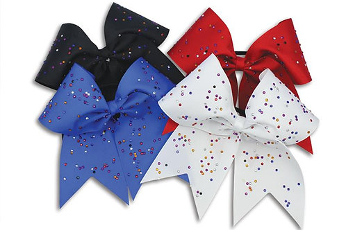 Pizzazz HB890 XL Scatter Stones Hair Bow