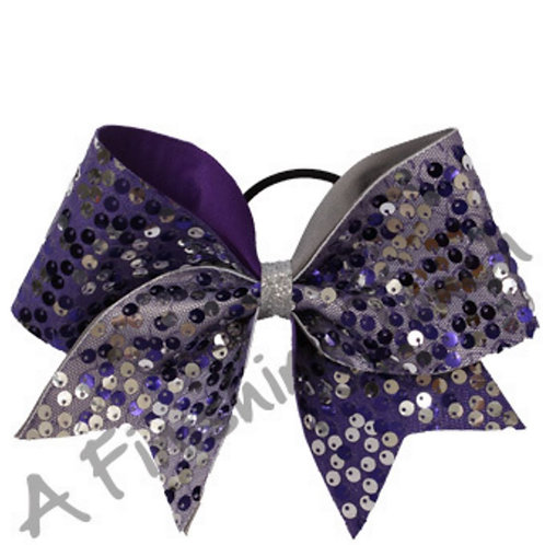 Flapper Mesh Sequin Bow 4 Layouts