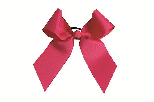 Pizzazz Solid Color Cheer Bow
