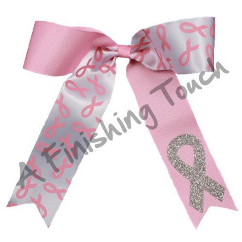 BC417- Pink Ribbon Bow