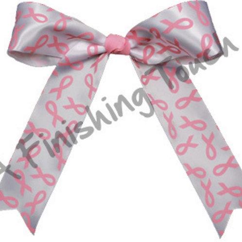 BC226- Pink Ribbon Bow