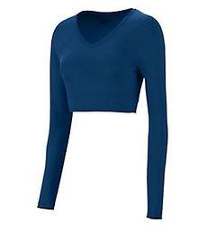 Blue Crop Top Liner.JPG