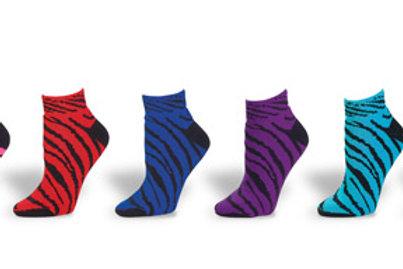 7090AP Animal Print Anklet Sock