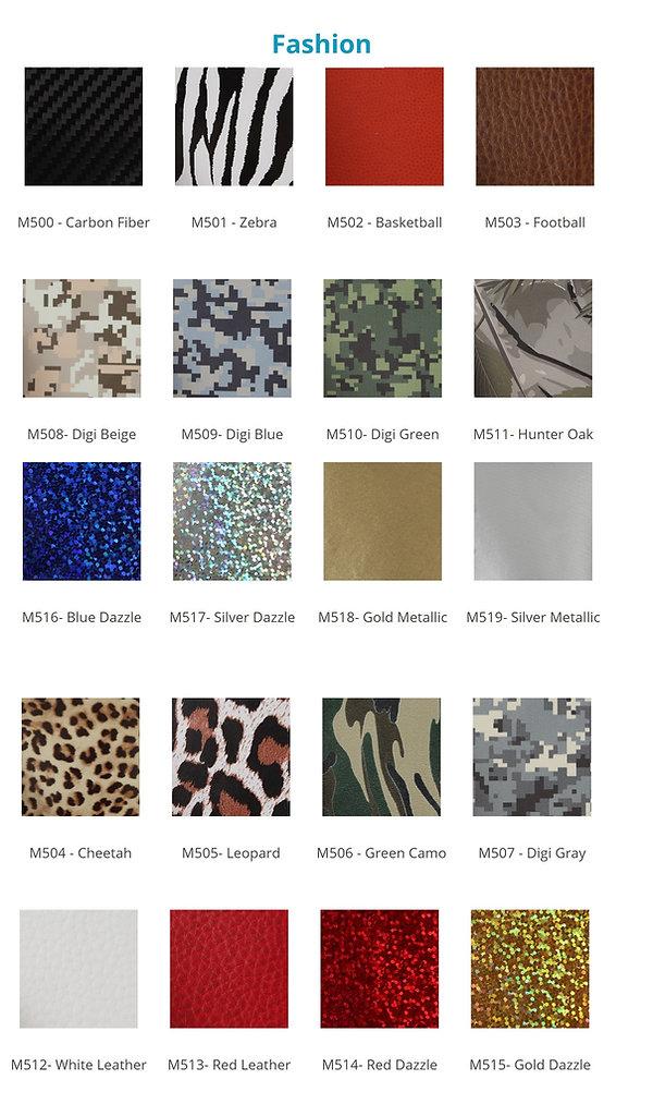 Custom Fashion Cheer Bow Heat Press Options. Fashion and pattern selection