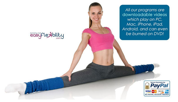 Learn the Splits and become flexible for Cheerleading. Hit higher Jumps and cleaner Stunts.