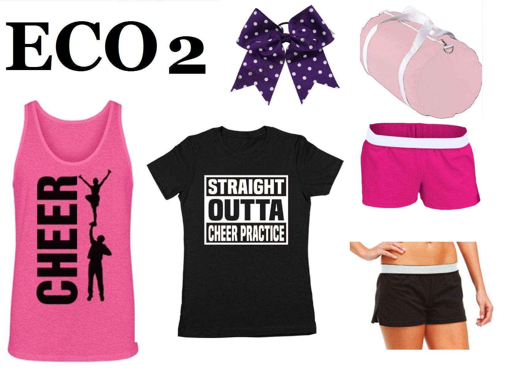 ECO 2 Cheer Camp & Practice Pack