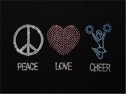 """LT180 """"PEACE, LOVE, CHEER"""" HTR"""