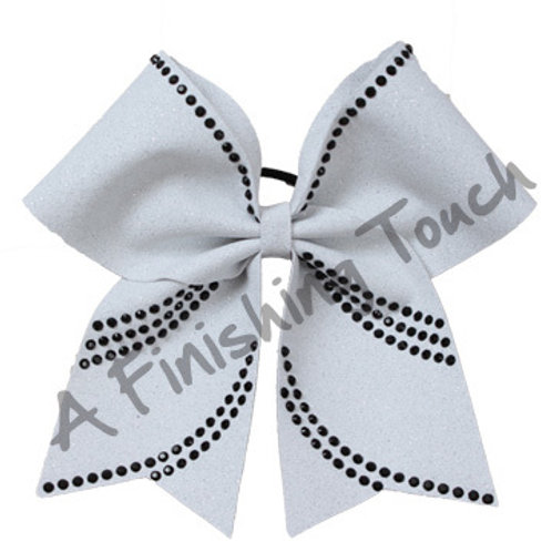 Glitter Bow with Rhinestones 6 Layouts