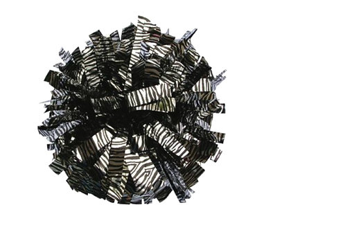 Metallic/ Zebra Poms