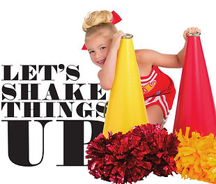 Cheerleading Poms, metallic and plastic poms starting at $5.99
