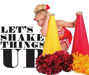 Cheerleading Poms, metallic and plastic poms starting at $5.99