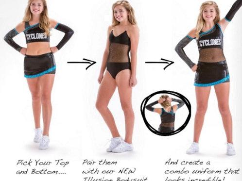 MW2930 Illusion Bodysuit