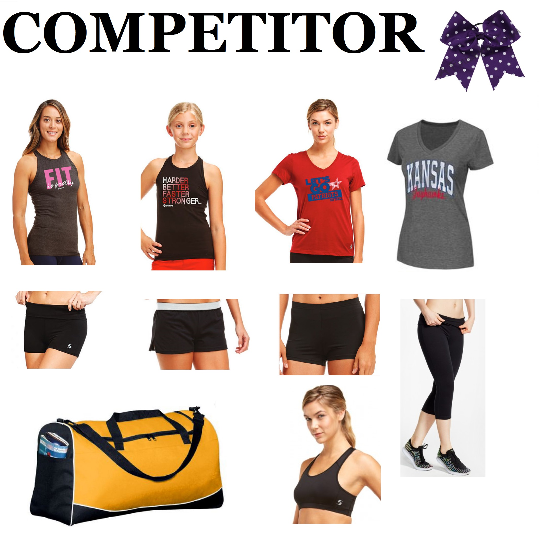 Competitor Cheer Camp/ Practice Pack