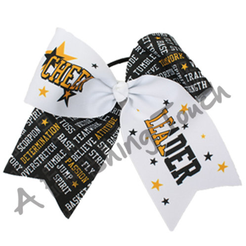 AFT Large Cheer Leader with Prints / Stars