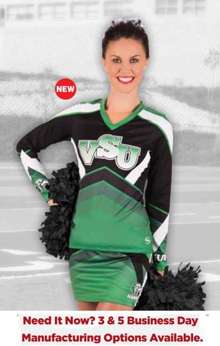 fb5c067d3bcf Sublimated Cheerleading Uniforms