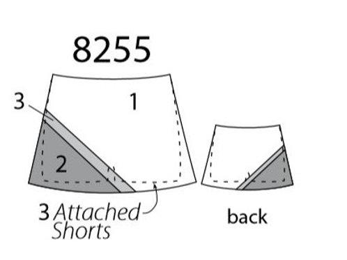 All Star Cheer Skirt MW8255