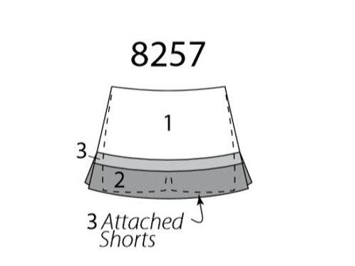 All Star Cheer Skirt MW8257