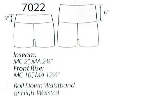 MW7022 Higher Waist Shorts