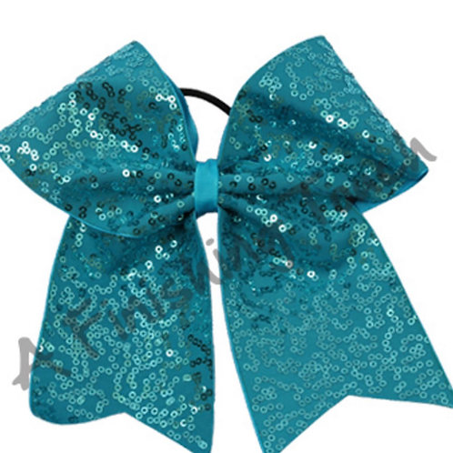 Dazzle Sequin Cheer Bow 6 Layouts