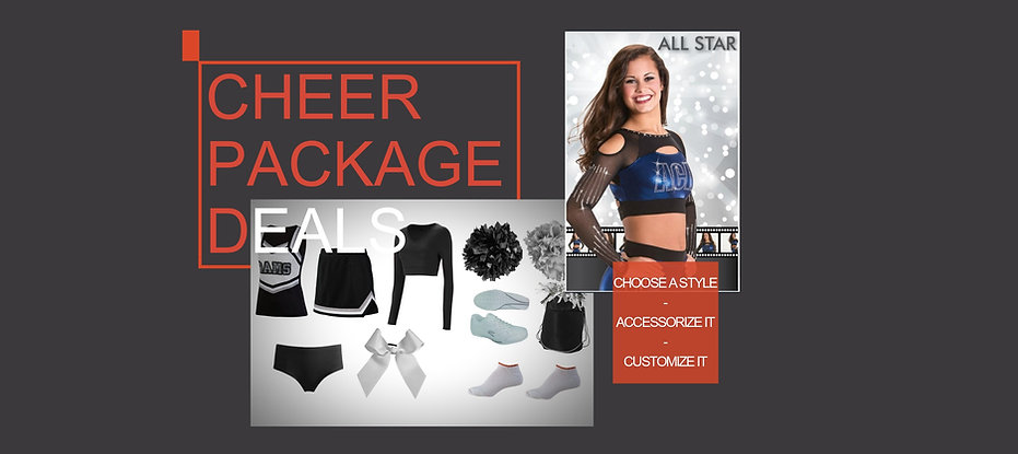 Cheerleading Sports bras, body liners, crop tops, body suits, briefs, boy cut shorts, and capris