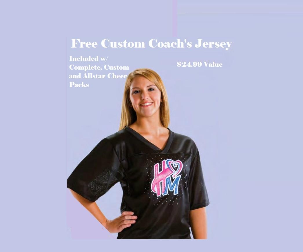 Free Cheerleading Jersey