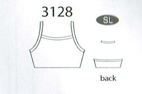 MW3128 Halter Camisole Cheer Bra Top