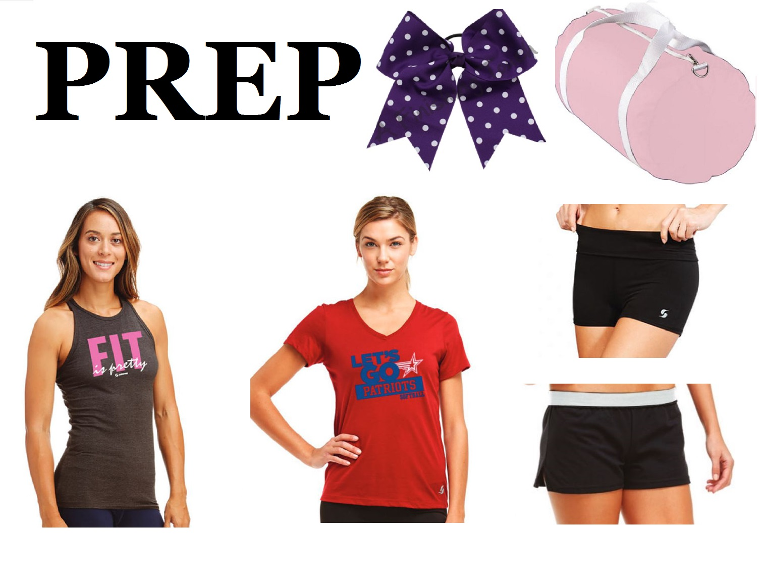 Prep Cheer Camp & Practice Wear