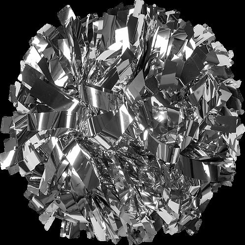 "Champion Solid Color 4"" Metallic Pom"