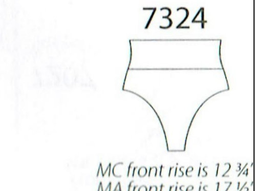 MW7324 High Waist Shorts