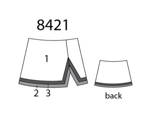 All Star Cheer Skirt MW8421