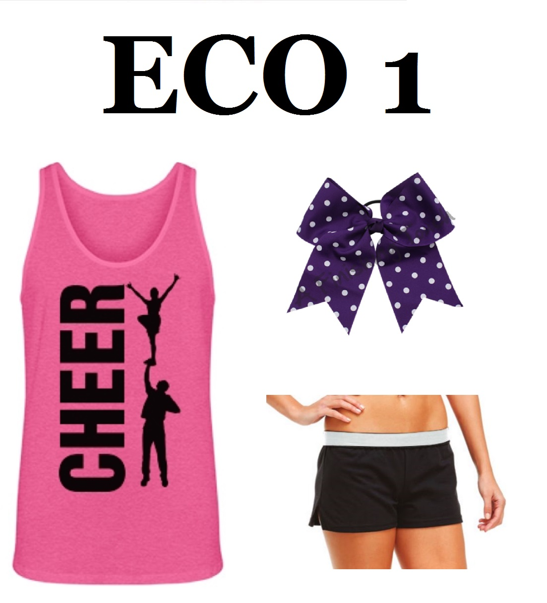 ECO 1 Cheer Camp & Practice Pack
