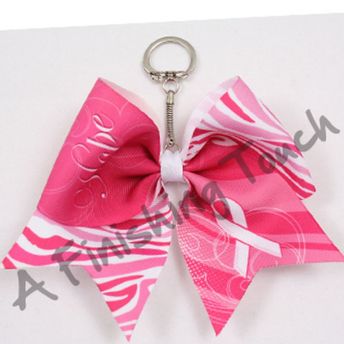 "BC133- Keychain Bow ""Hope"""