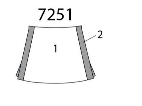 All Star Cheer Skirt MW7251