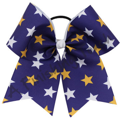 AFT Sublimation Two orThree Color Star Cheer Bow