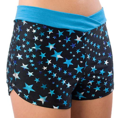Super Star Crossover  Cheer Shorts - Pizzazz